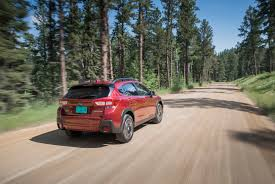 black subaru crosstrek 2018 subaru crosstrek limited test drive