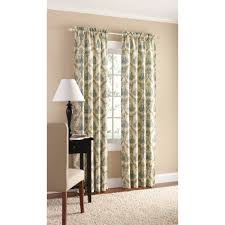 mainstays canvas european damask heavyweight curtain panel set of