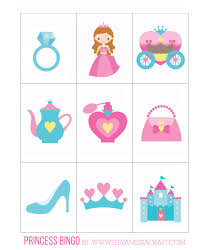 free printable halloween bingo game cards printable princess bingo with goldfish see vanessa craft