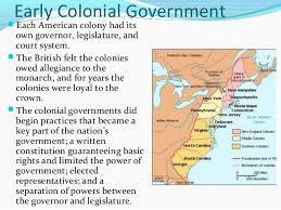 2 origins of american government