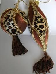 animal print leopard zebra decorative ornaments by artbouquet
