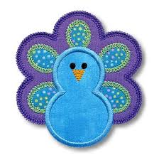 peacock applique gg designs embroidery