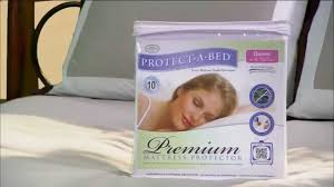 premium mattress protector by protect a bed youtube