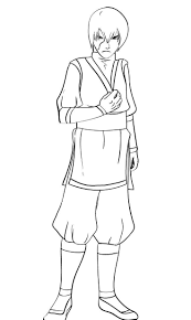 zuko avatar coloring page printable coloring page kids