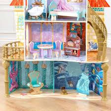 kidkraft disney princess ariel land to sea castle dollhouse ebay