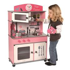 cuisine en bois jouet pas cher juratoys grande cuisine enfant en bois achat vente dinette