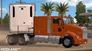kenworth bus kenworth t800 mod for american truck simulator ats