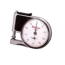 analog thickness gauge handheld 101x series starrett