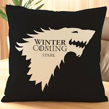 cushion throw pillows pillowcase colorful game of thrones cushions