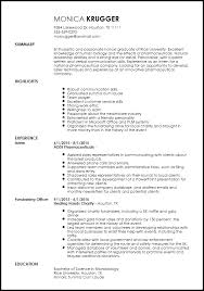 Beginner Resume Templates Free Entry Level Medical Sales Representative Resume Template