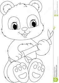 shining ideas coloring pages draw a cartoon panda zentangle