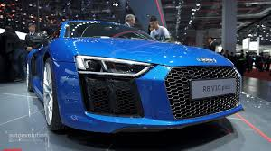 audi r8 v10 plus leads audi u0027s power play at auto shanghai 2015