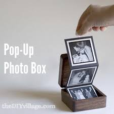 handmade wedding gifts pop up photo box gift idea the diy