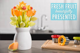 how to make fruit arrangements fruit of the bloom diy edible flower bouquets