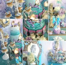 mermaid baby shower decorations marvelous decoration mermaid baby shower cosy mermaids party ideas