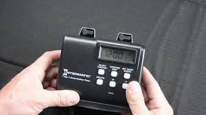 outdoor light timer instructions intermatic hb880r landscape lighting timer tutorial youtube