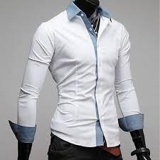 men u0027s fashion bow tie decoration shirt male casual slim fit long