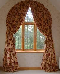 Curved Window Curtain Rods For Arch Fresh Curtain Designs For Arched Windows 10633