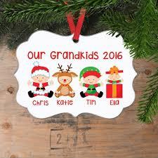 personalized grandkids ornament custom ornament