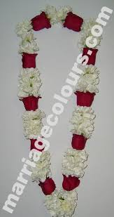 flower garlands for indian weddings white and violet garland flower garland indian wedding garlands