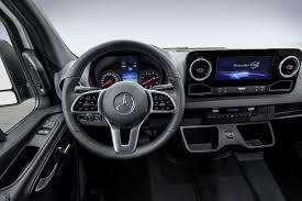 mercedes mclaren interior new mercedes benz sprinter interior revealed on sale next spring