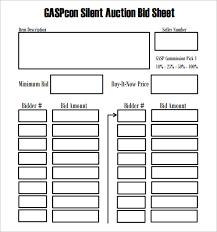 30 images of silent auction item description template infovia net