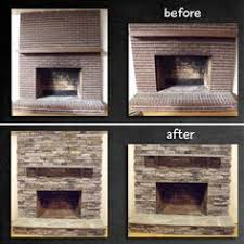 How To Update Brick Fireplace by How To Cover Brick Fireplace Brick Fireplace Remodel Home