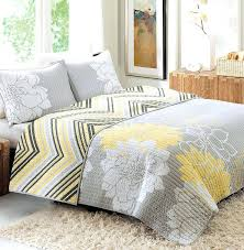 Grey And Yellow Crib Bedding Yellow Gray Quilt With Minky Backing Gray And Yellow Quilt Target