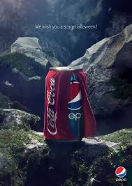 scary halloween coke vs pepsi a scary halloween ad campaign brandme brandme