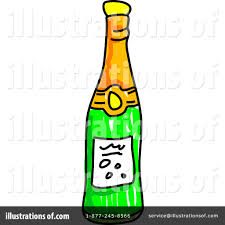 cartoon alcohol bottle champagne clipart 66098 illustration by prawny