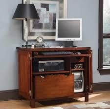 Black Computer Desk With Hutch Furniture Minimalist Tall Walnut Design Small Computer Desk With