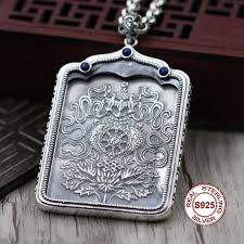 men s religious jewelry religious jewelry 925 sterling silver pendants buddhist accessories