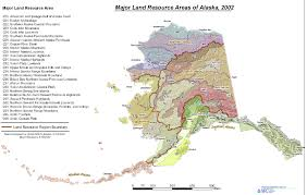 Alaska Air Map by Land Resource Regions And Major Land Resource Areas Of Alaska