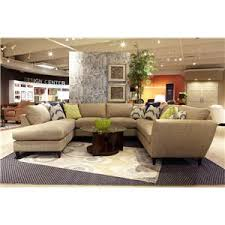 la z boy tribeca contemporary two piece sectional sofa with las
