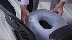 aylio donut seat cushion comfort pillow for hemorrhoids prostate