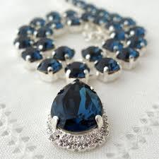 swarovski necklace blue stone images Best swarovski tennis necklace products on wanelo jpg