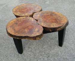 coffee table fascinating tree trunk coffee table designs