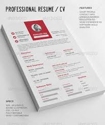 Resume Elegant Resume Templates by 155 Premium Cv Resume Templates In Indd Eps U0026 Psd Xdesigns