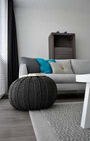 Pouf Gris Ikea by 57 Best Poufs Images On Pinterest Knitted Pouf Poufs And Knit