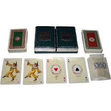 deck piatnik tudor cards prof kuno hock