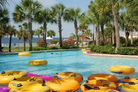 Backyard Pool With Lazy River Resort With Lazy River In Destin Fl