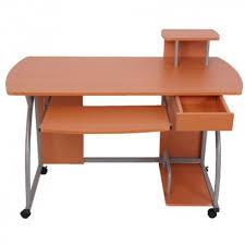 le de bureau pour enfant bureau pour enfant desserte informatique hêtre bur04057 décoshop26