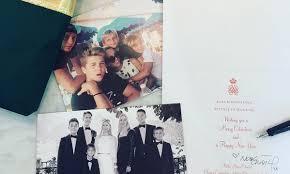 royal families u0027 2015 holiday cards and photos hello us