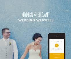 wedding websites modern wedding websites by sitting in a tree
