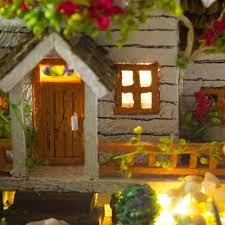 diy house miniature kit dollhouse creative room with furniture