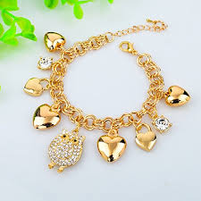 gold bracelet pendant images Long way summer style bracelets for women owl love jpg