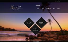hotels website template 45254