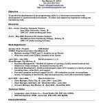 Formal Resume Format Sample free resume templates 85 surprising format samples with examples