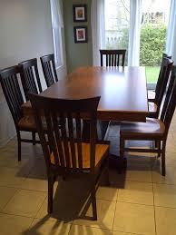 solid maple dining table canadian wood design solid wood furniture gallery