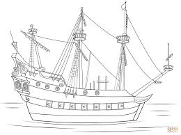 captain hook pirate ship coloring page free printable coloring pages